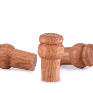 Пробка деревянная для дубовой бочки