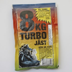 Дрожжи TURBO JAST 8