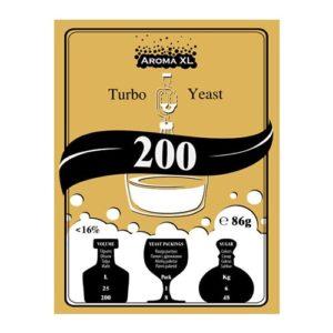 Дрожжи спиртовые AromaXL 200 Turbo