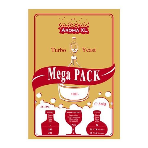 Дрожжи спиртовые AromaXL MegaPack