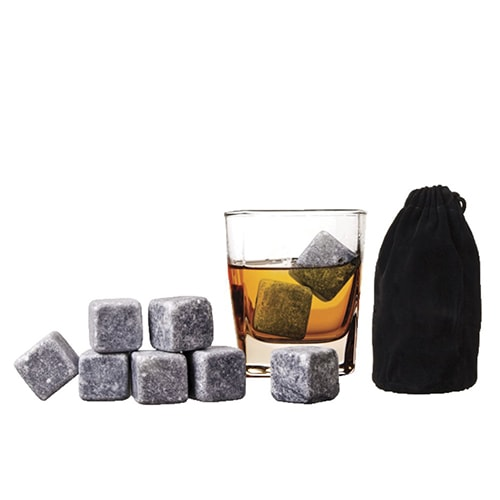 Камни для виски в мешочке