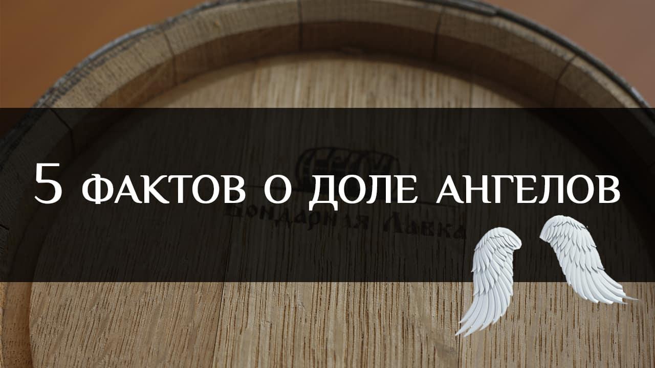 Бондарная лавка видео - Испарение напитка — 5 фактов о доле ангелов